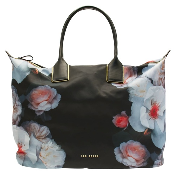 9974666854e Ted Baker Bags   Floral Nylone Tote Bag Large   Poshmark